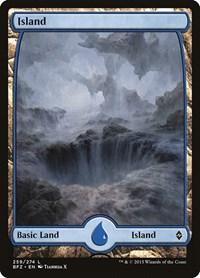 Island (259) - Full Art, Magic: The Gathering, Battle for Zendikar
