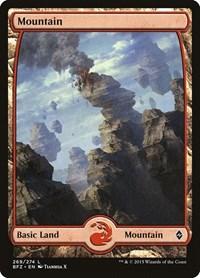 Mountain (269) - Full Art, Magic: The Gathering, Battle for Zendikar