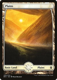 Plains (250) - Full Art, Magic: The Gathering, Battle for Zendikar