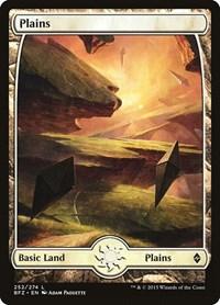 Plains (252) - Full Art, Magic: The Gathering, Battle for Zendikar