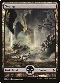 Swamp (262) - Full Art, Magic: The Gathering, Battle for Zendikar