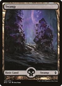 Swamp (263) - Full Art, Magic: The Gathering, Battle for Zendikar