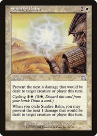 Sunfire Balm, Magic: The Gathering, Onslaught