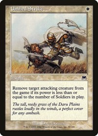 Unified Strike, Magic: The Gathering, Onslaught