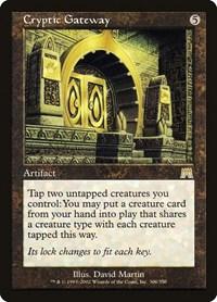 Cryptic Gateway, Magic: The Gathering, Onslaught