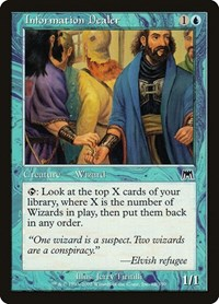 Information Dealer, Magic: The Gathering, Onslaught