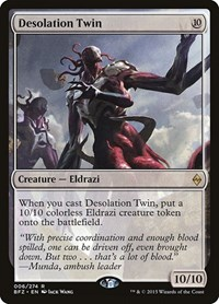 Desolation Twin, Magic: The Gathering, Battle for Zendikar