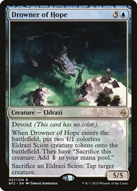 Drowner of Hope, Magic: The Gathering, Battle for Zendikar