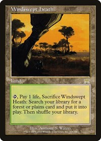 Windswept Heath, Magic: The Gathering, Onslaught