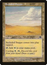 Secluded Steppe, Magic: The Gathering, Onslaught