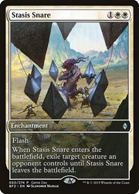 Stasis Snare, Magic: The Gathering, Game Day & Store Championship Promos