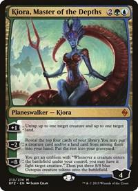 Kiora, Master of the Depths, Magic: The Gathering, Battle for Zendikar