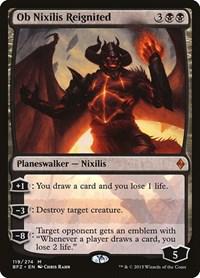 Ob Nixilis Reignited, Magic: The Gathering, Battle for Zendikar