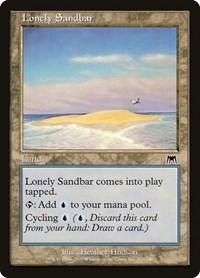 Lonely Sandbar, Magic: The Gathering, Onslaught