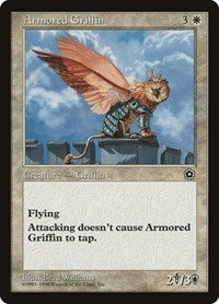 Armored Griffin, Magic: The Gathering, Portal Second Age