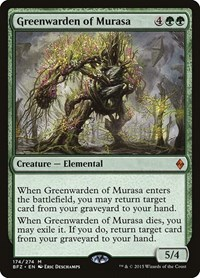 Greenwarden of Murasa, Magic, Battle for Zendikar
