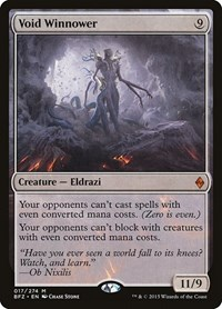 Void Winnower, Magic: The Gathering, Battle for Zendikar