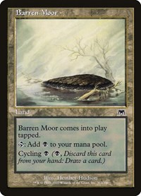 Barren Moor, Magic: The Gathering, Onslaught