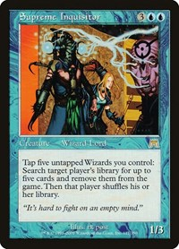 Supreme Inquisitor, Magic: The Gathering, Onslaught