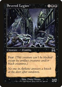 Severed Legion, Magic: The Gathering, Onslaught