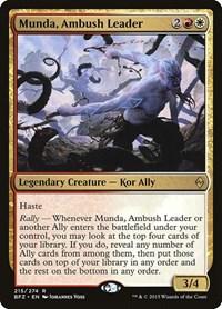 Munda, Ambush Leader, Magic: The Gathering, Battle for Zendikar