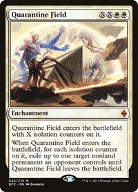 Quarantine Field, Magic, Battle for Zendikar