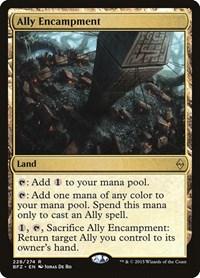 Ally Encampment, Magic, Battle for Zendikar