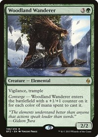 Woodland Wanderer, Magic: The Gathering, Battle for Zendikar