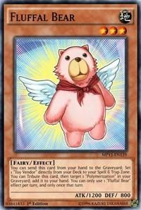Fluffal Bear, YuGiOh, 2015 Mega-Tins Mega Pack