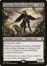 Drana, Liberator of Malakir, Magic: The Gathering, Battle for Zendikar