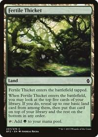 Fertile Thicket, Magic, Battle for Zendikar