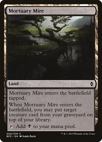 Mortuary Mire, Magic: The Gathering, Battle for Zendikar
