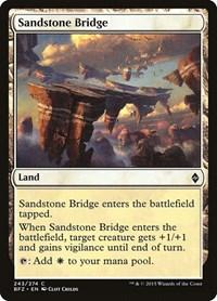 Sandstone Bridge, Magic, Battle for Zendikar