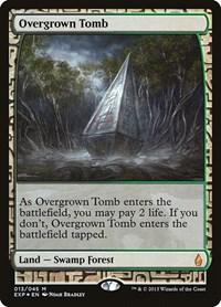 Overgrown Tomb, Magic: The Gathering, Zendikar Expeditions