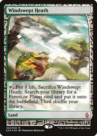 Windswept Heath, Magic: The Gathering, Zendikar Expeditions