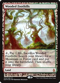 Wooded Foothills, Magic, Zendikar Expeditions