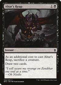 Altar's Reap, Magic: The Gathering, Battle for Zendikar