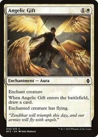 Angelic Gift, Magic: The Gathering, Battle for Zendikar