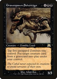 Gravespawn Sovereign, Magic: The Gathering, Onslaught