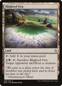 Blighted Fen, Magic, Battle for Zendikar