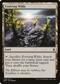 Evolving Wilds, Magic: The Gathering, Battle for Zendikar