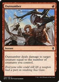 Outnumber, Magic: The Gathering, Battle for Zendikar