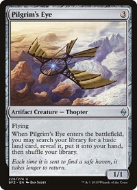 Pilgrim's Eye, Magic: The Gathering, Battle for Zendikar