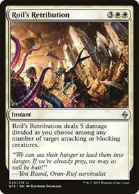 Roil's Retribution, Magic: The Gathering, Battle for Zendikar
