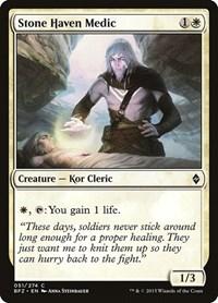 Stone Haven Medic, Magic, Battle for Zendikar