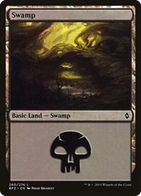 Swamp (260), Magic: The Gathering, Battle for Zendikar