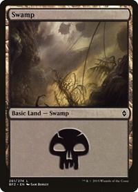 Swamp (261), Magic: The Gathering, Battle for Zendikar