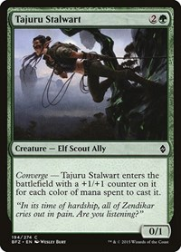 Tajuru Stalwart, Magic: The Gathering, Battle for Zendikar