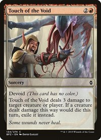 Touch of the Void, Magic: The Gathering, Battle for Zendikar