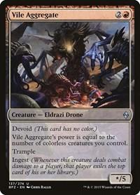 Vile Aggregate, Magic: The Gathering, Battle for Zendikar